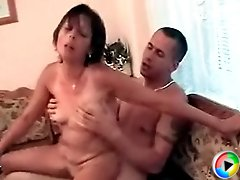 Mature lady got drunk in no time and her drunk fuckhole fucked hard by lad's huge tool