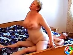 MILF's fuckhole impressed lad very much and he wants to feel her pussy on his hard dick again