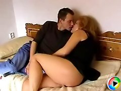 Lucky youngster enjoys fucking a gorgeous busty mature cougar