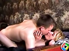 Horny old slut can't wait to get fucked silly by a young dick